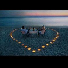 Romantic Beach Date