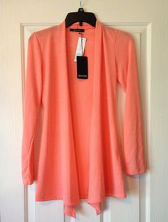 Stitch Fix -- Beautiful soft orange color of this Abrianna Longsleeve Knit Cardigan by 41Hawthorn. Perfect for Spring & Summer. Incredibly soft fabric, too.