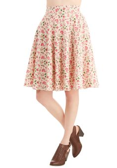 Plus - You, Me, and Lunch Skirt
