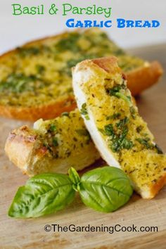 Garlic bread is a must have accompaniment to many main course dishes. It goes well with anything from Italian dishes to simple salads.