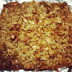 Copy cat recipe for Kind Almond and Coconut bars--I'm definitely going to try this. 1 Kind bar= 1.95 so I plan to see how much $ it is to make them myself. I'm planning to add crisped brown rice cereal that I found at our local natural foods store.