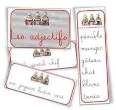 Clip cards are fun French teaching resources! Check out these FREE French Adjectives Clip Cards Read In French, Free French, French Teaching Resources, Teaching French, French Adjectives, French Grammar, French Immersion, French Teacher, Parts Of Speech