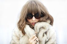 Nasty-Gal faux fur coat...MUST HAVE
