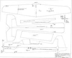 indoor rc plane plans - Google Search