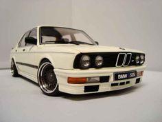 AUTOART MODEL CARS 1 18 | Bmw 535i M 1985 wheels bbs Autoart 1/18