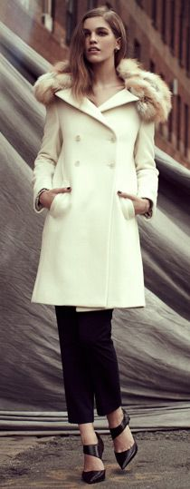 Lovely coat from Elizabeth and James.