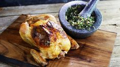 Lizzie's Roasted Chicken is one of 5 recipes you must make before you die! Recipe courtesy of Chef Michael Symon.
