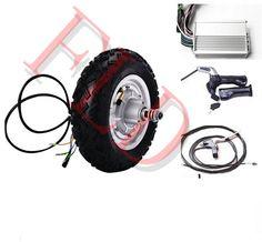 """10"""" 500w 36V electric wheel hub motor   brushless non-gear hub motor   electric scooter kit   wheels motor skateboard"""