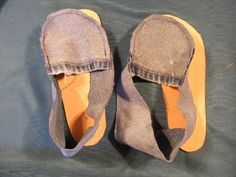 Class: DIY Footwear using recycled jeans by DoNight, via Flickr