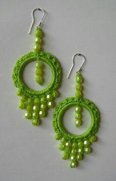Image result for brincos de croche