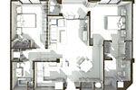 House Illustrations PCI Dorm Floor Plans Illustration 2