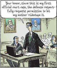 first court case
