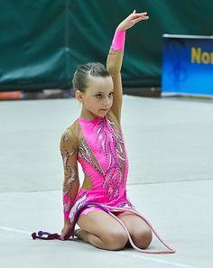 Competition Rhythmic Gymnastics Leotard SOLD by Savalia on Etsy Gymnastics Outfits, Rhythmic Gymnastics Leotards, Pink Costume, Girls Dance Costumes, Little Girl Dancing, Figure Skating Dresses, Dance Photography, Roller Skating, Dance Dresses