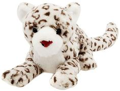Born in China Though he was born in China, this sleek, realistic Snow Leopard plush would love to call your house his home.
