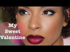 Mac Cosmetics Vino Lip Liner L'Oréal Paris Infallible Pro-Lip Colour Raisin Revival as modeled by Beauty By Lee