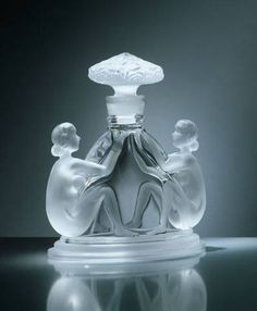 Art Deco Parfume Bottle by Renè Lalique ca.1925Rene Lalique Ideas, Nature and Art More Pins Like This At FOSTERGINGER @ Pinterest