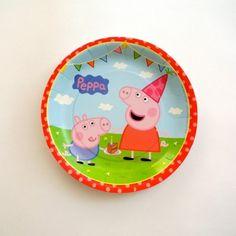 Platos Pasteleros de Peppa Pig y George - Artículos de Fiesta