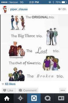 Trios.