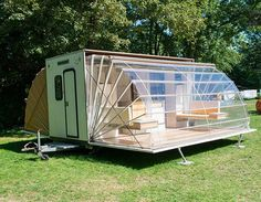 A Camper That Takes Luxury Camping to a New Level Without Looking Outrageous