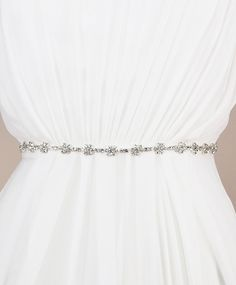 Harlow Sash | Kirsten Kuehn || handmade crystal bridal sashes & embellished accessories