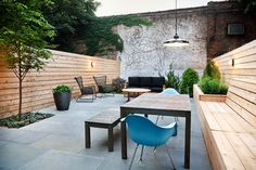Modern in Bed-Stuy - contemporary - Patio - New York - New Eco Landscapes