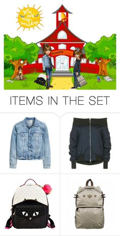 """Back to School in Style'"" by dianefantasy ❤ liked on Polyvore featuring art"