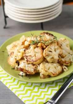 Cooking Recipes: Parmesan Roasted Cauliflower