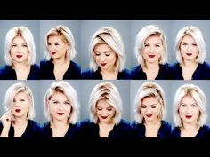 HOW TO: 10 Ways To Part Your Hair | Milabu - YouTube