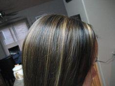 Lowlights for black hair,highlights for black hair,lowlights for dark ...