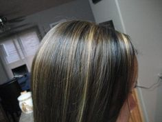 Lowlights for black hair,highlights for black hair,lowlights for dark ...