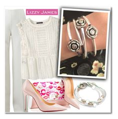 """""""Lizzy James"""" by aida-nurkovic ❤ liked on Polyvore featuring Michael Kors, Violeta by Mango, Christian Louboutin, Lizzy James and lizzyjames"""