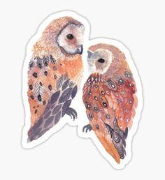 Tumblr Owl Pegatina