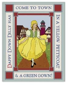 Daffy Down Dilly -- Wildflower Graphics