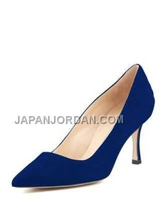 https://www.japanjordan.com/manolo-blahnik-bb-suede-70mm-pump-cobalt.html 本物の MANOLO BLAHNIK BB SUEDE 70MM PUMP COBALT Only ¥20,900 , Free Shipping!