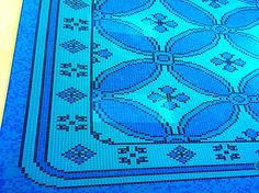 Luxury finished for pool, by Bisazza. Piscinas Godo. http://piscinasgodo.com/proyectos/proyecto-bisazza-etoiles-blue/