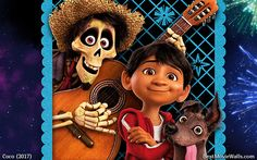 #Miguel, #Hector and #Dante ready for some fun in this hd wallpaper from #Coco :]
