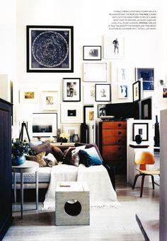 framed art wall collage #homedecor #interiordesign