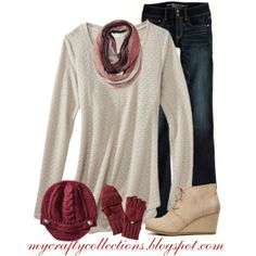 Women's outfit - Stylish & Warm, created by angiejane on Polyvore