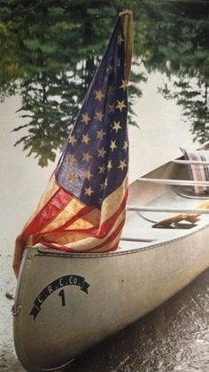 .sailing with the red white & blue.