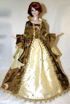 "Enchanted Gown for 22"" American Model Dolls Tonner"