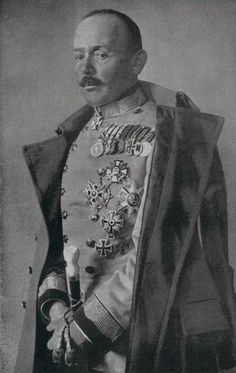 "Field Marshal Svetozar Boroevic, only South Slav (ethnic Serb from Croatia) that ever reached highest rank of Field Marshal of Habsburg Imperial army. Commander of Italian front in and called ""Lion of Isonzo"" Ww1 Soldiers, Wwi, Austrian Empire, Battle Of The Somme, Field Marshal, Germany Ww2, Imperial Army, Austro Hungarian, Historical Images"