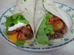 The Recipe Blog: Taco John's Meat and Potato Burrito
