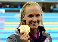 Dana Vollmer.............GOLD!!!!
