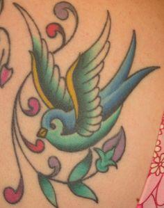 bird tattoo (do not want)