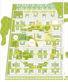 Vaskhnil Novosibirsk: A public space framework for a new residential area