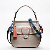 Colour block bag from Coach - cute blend of colours!