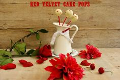 Atrapada en mi cocina: RED VELVET CAKE POPS