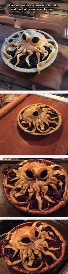 Scary Cthulhu Pie