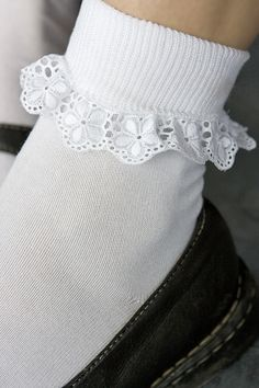 MP Lace Trimmed Ankle Socks