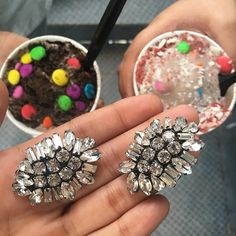 Candy Crush!  #Prerto #Luxury #Jewelry #Earrings #Candy #Love #Statement #Fashion